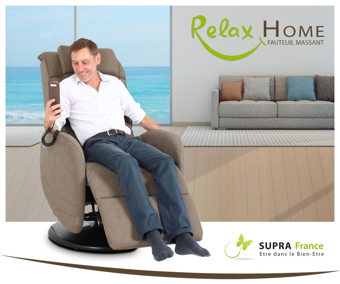 Fauteuil massant Relax Home