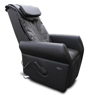 Fauteuil de massage living star vu de profil